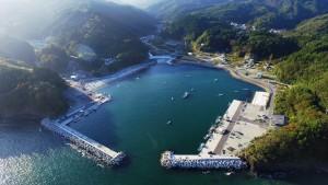 北上漁港(相川地区)